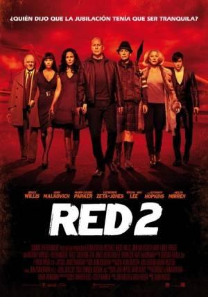 Cartel de cine de Red 2
