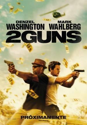 """Cartel de la película """"2 Guns"""""""