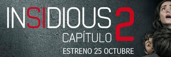 Insidius Capitulo 2 - Estrenos de cine 2013