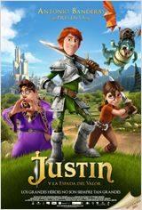 """""""Justin y la espada del valor"""" - Cartel"""