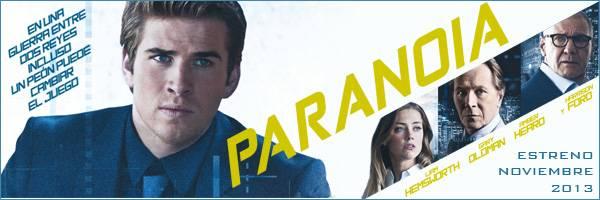 """""""Paranoia"""" (Película) - Estrenos 2013"""
