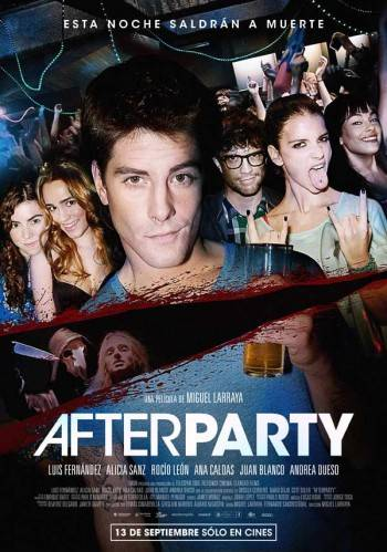 "Cartel de ""Afterparty"""