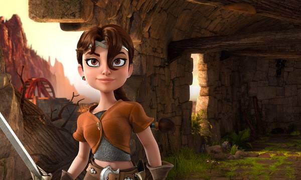 """Imagen de la película """"Justin y la espada del valor"""""""