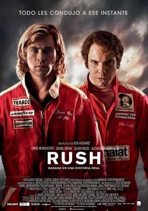 "Cartel de la película ""RUSH"""