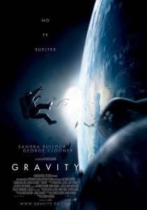 """Cartel de la película """"Gravity"""""""