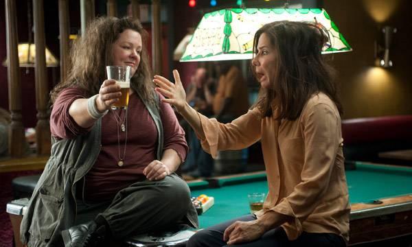 """Melissa McCarthy y Sandra Bullock en """"Cuerpos Especiales"""""""