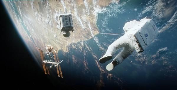 """Escena de la película """"Gravity"""""""
