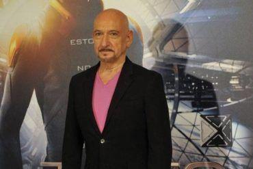 """Ben Kingsley presentando """"El juego de Ender"""" durante su visita en Madrid"""