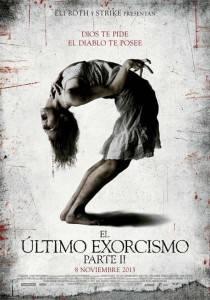 """Cartel """"El ultimo exorcismo parte 2"""""""