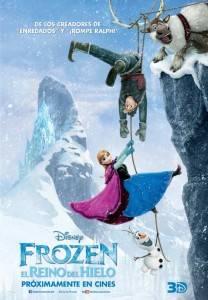 """Cartel """"Frozen, El reino del hielo"""""""