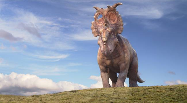 """Imagen de la película """"Caminando entre dinosaurios"""" (3D)"""