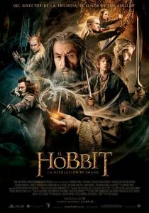 cartel de el hobbit la desolacion de smaug