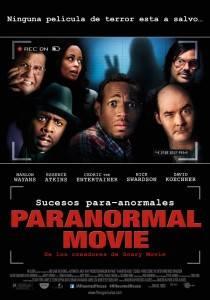 """Cartel de """"Paranormal movie"""""""