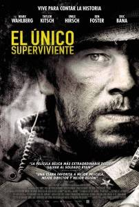 """Cartel """"El único superviviente"""" (2013)"""