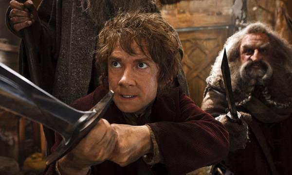 Bilbo Bolsón defendiéndose