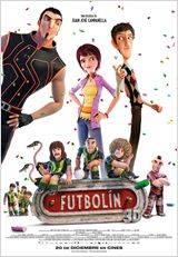 """Cartel de """"Futbolín"""""""