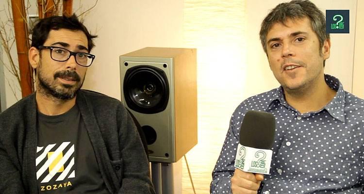 Iván y Amaro Ferreiro durante la entrevista en LosInterrogantes.com