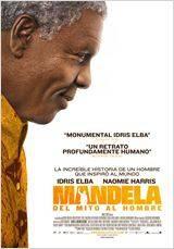 """Cartel """"Mandela, del mito al hombre"""""""