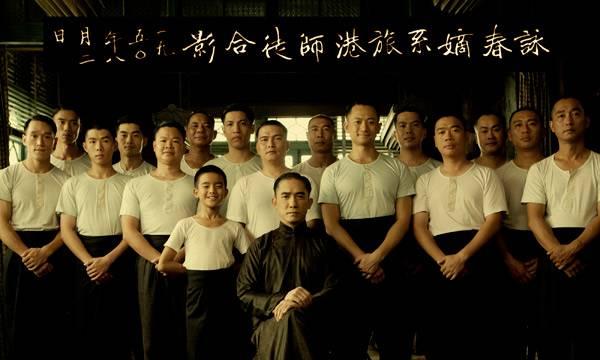 """Imagen """"The Granmaster"""" de Wong Kar Wai (El niño es Bruce Lee y en el centro su maestro Ip Man)"""