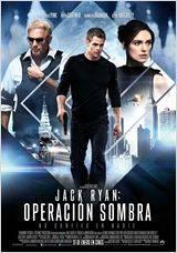 "Cartel ""Jack Ryan, Operación sombra"""
