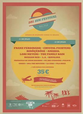 """Cartel """"101 Sun Festival"""""""