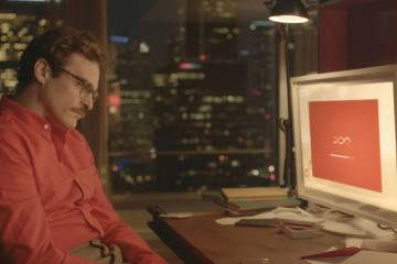 """Imagen de la película """"Her"""" de Spike Jonze (2014)"""