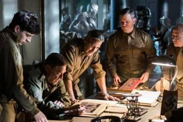 "Imagen de la película ""Monuments Men"" (2014)"