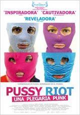 """Cartel de la película """"Pussy Riot, una plegaria punk"""""""
