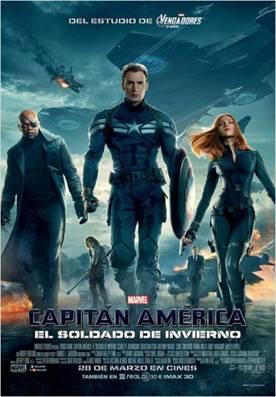 Capitán América: El Soldado de Invierno - Cartel