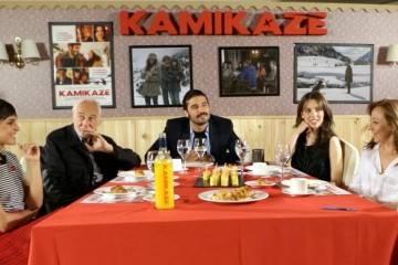 Película Kamikaze, entrevista con el reparto