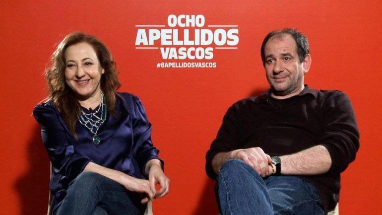 """Ocho apellidos vascos"", Karra Elejalde y Carmen Machi"