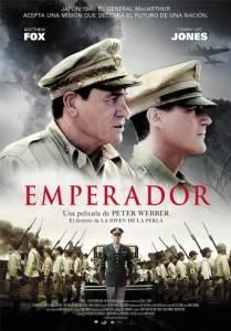 """Cartel de la película """"Emperador"""""""