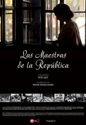 """""""Las maestras de la República"""" - Cartel"""
