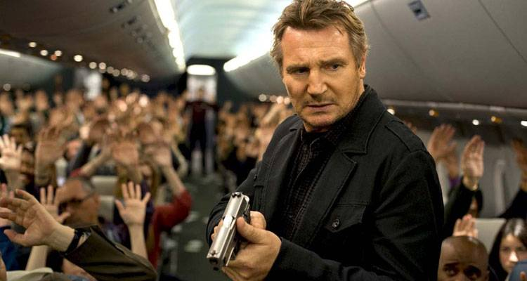 "Imagen de ""Non-stop"" (Sin salida) con Liam Neeson"