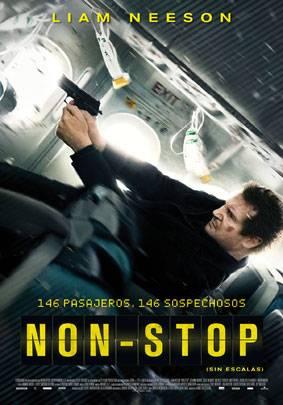 """Non-stop"" (Sin salida) - Cartel"