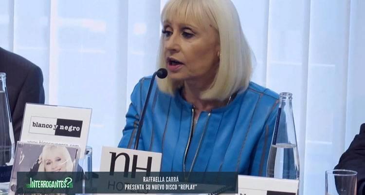 """Raffaella Carrá presenta en rueda de prensa """"Replay"""""""