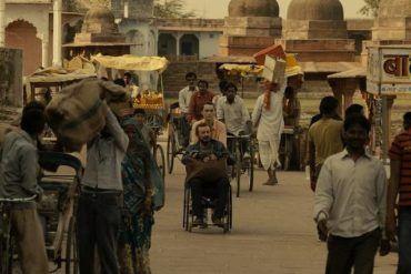 """Imagen de la película """"Anochece en la India"""""""