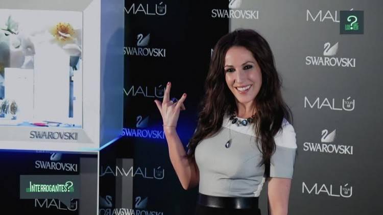 Imagen de Malú durante la presentación de 'Tour Sí'