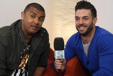 Imagen de Rasel y Henry Méndez durante la entrevista en LosInterrogantes.com