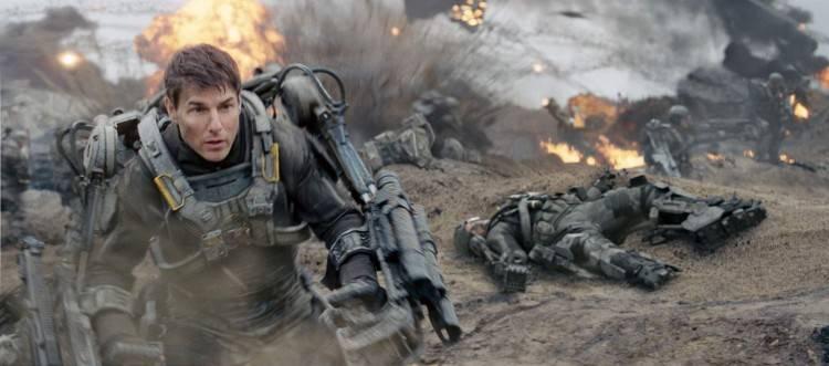 Tom Cruise en la película 'Al filo del mañana'