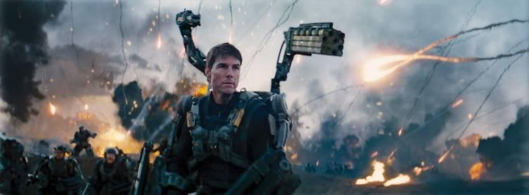 Tom Cruise protagonista de la película 'Al filo del mañana'