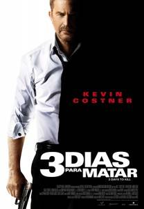 "Cartel de ""3 dias para matar"""