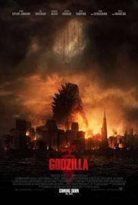Cartel de Godzilla 2014