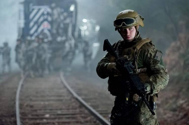 Aaron Taylor-Johnson en Godzilla 2014