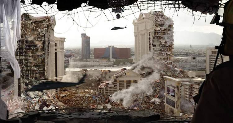 Las Vegas - Imagen de 'Godzilla 2014'