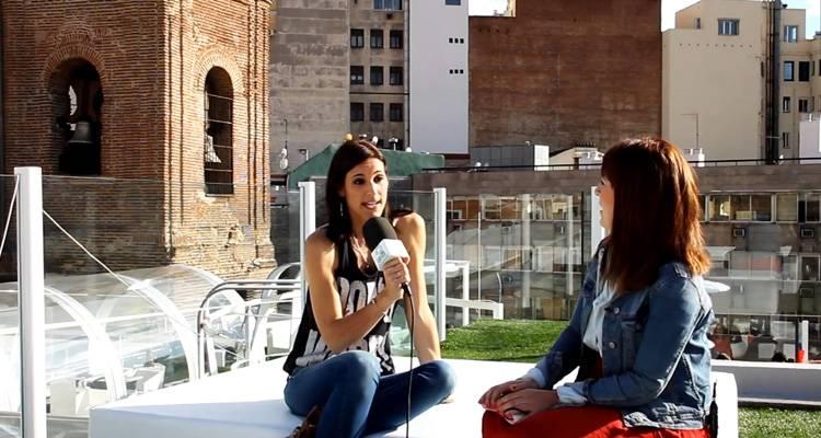 Conchita durante la entrevista en LosInterrogantes.com