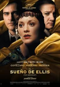 Cartel de El sueño de Ellis (The Inmigrant)