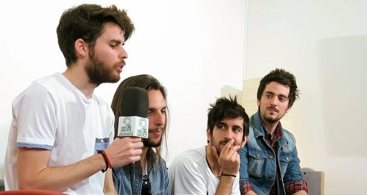 Imagen de 'Nada que decir' durante la entrevista a LosInterrogantes.com