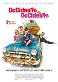 Occidente es Occidente - Cartel