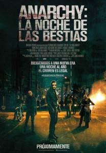 Cartel 'Anarchy: La noche de las bestias'